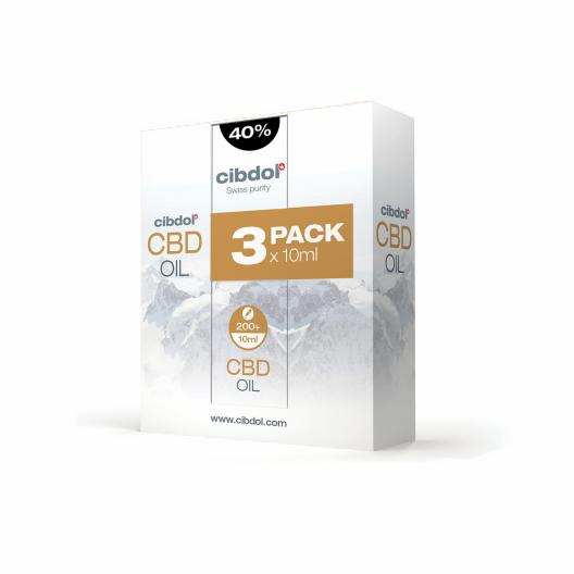 CBD olaj 40% Multipack